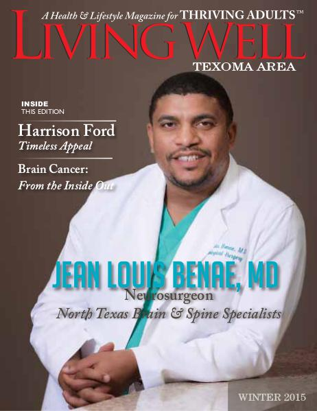 Texoma Living Well Magazine Winter 2015
