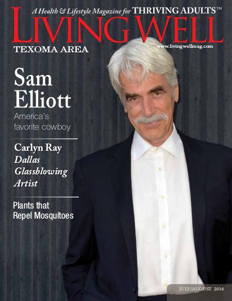 Texoma Living Well Magazine July/August 2016