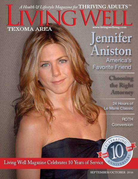 Texoma Living Well Magazine September/October 2016