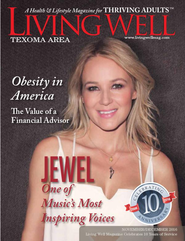 Texoma Living Well Magazine November/December 2016