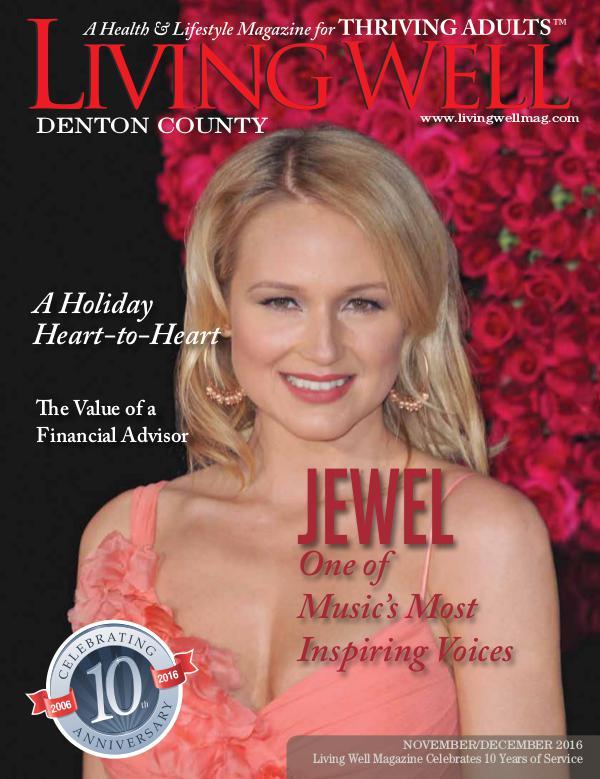 Denton County  Living Well Magazine November/December 2016