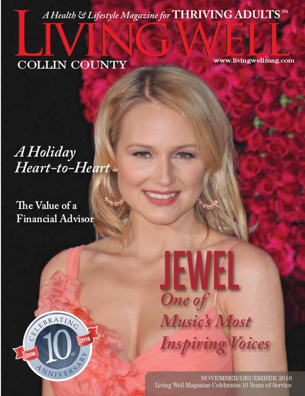 Collin County Living Well Magazine November/December 2016