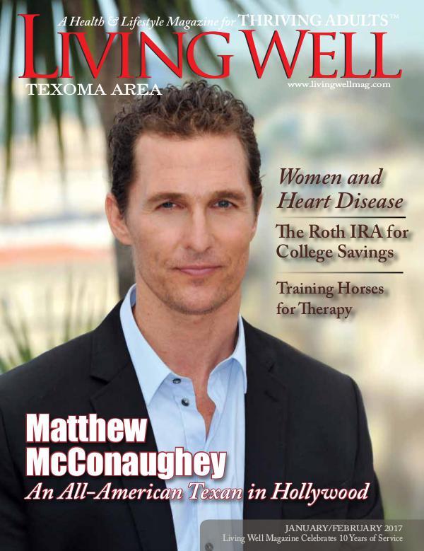 Texoma Living Well Magazine January/February 2017