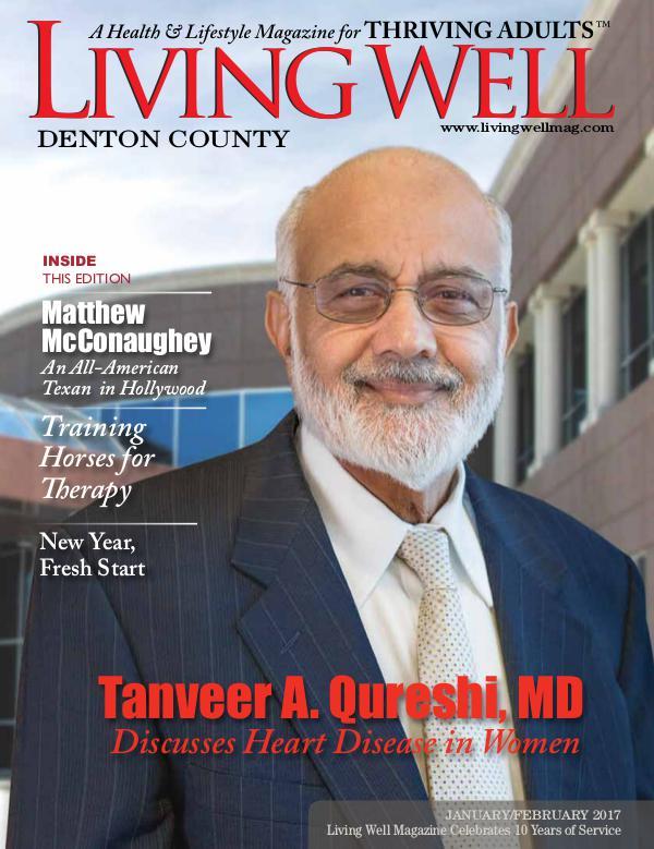 Denton County  Living Well Magazine January/February 2017