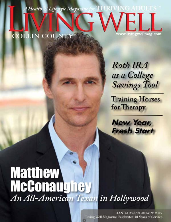 Collin County Living Well Magazine January/February 2017
