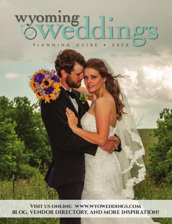 Wyoming Weddings Bridal Guide 2020
