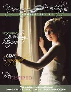 Wyoming Weddings Planner 2012