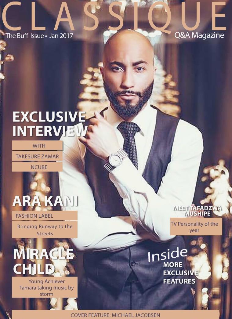 Classique Q&A Magazine Buff Issue