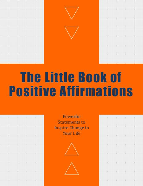 The Little Book of Positive Affirmations
