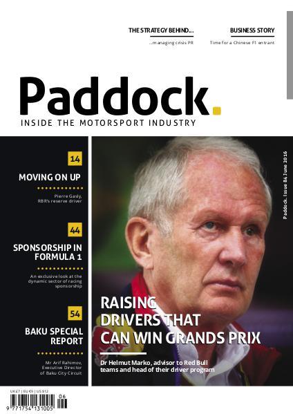 Paddock magazine June 2016 Issue 84