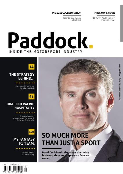 Paddock magazine July/August 2016 Issue 85