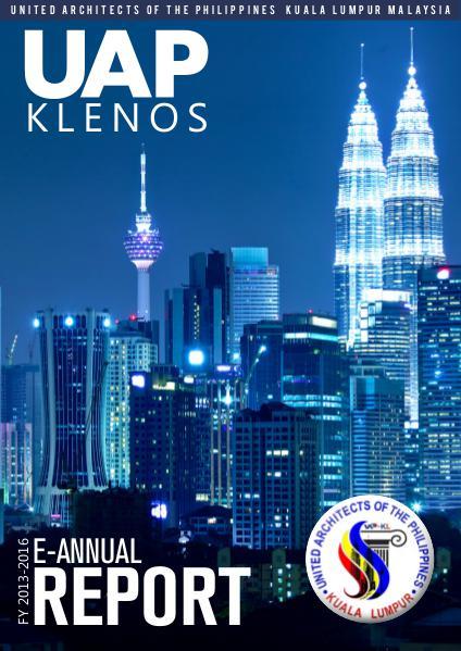 UAP Klenos E-Annual Report 2015-2016 2015-2016