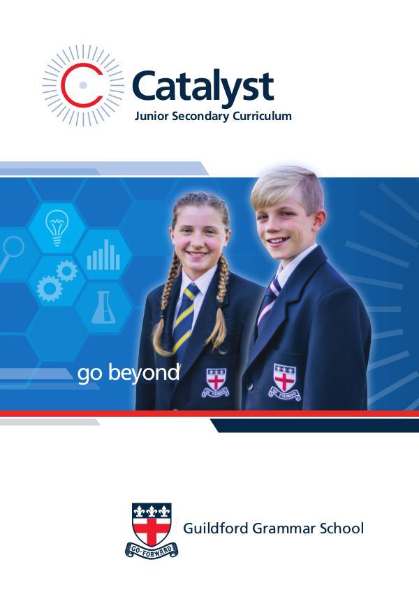 Catalyst: Junior Secondary Curriculum GGS_CatalystBroch2018_HiQ