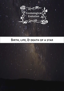 Birth, life, and death of a star