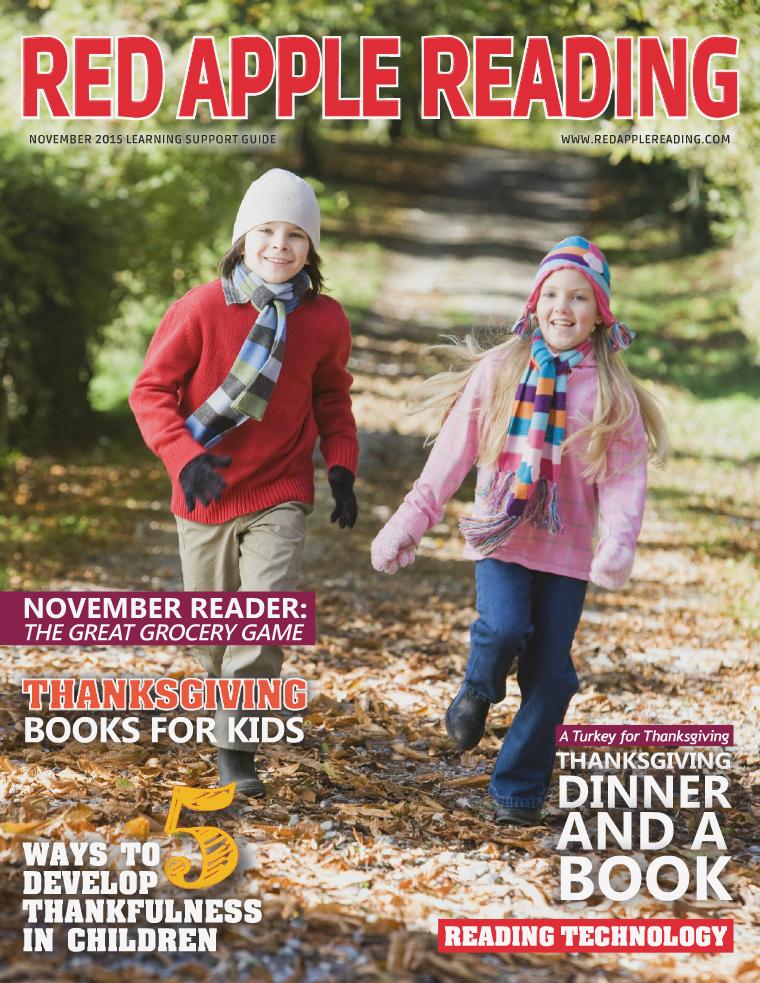 Red Apple Reading Magazine November 2015