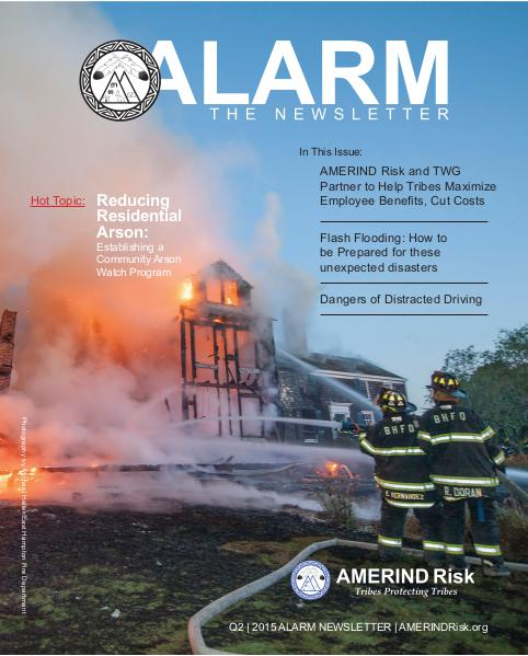 AMERIND Risk ALARM Newsletter  - 2015 2nd Quarter 2015