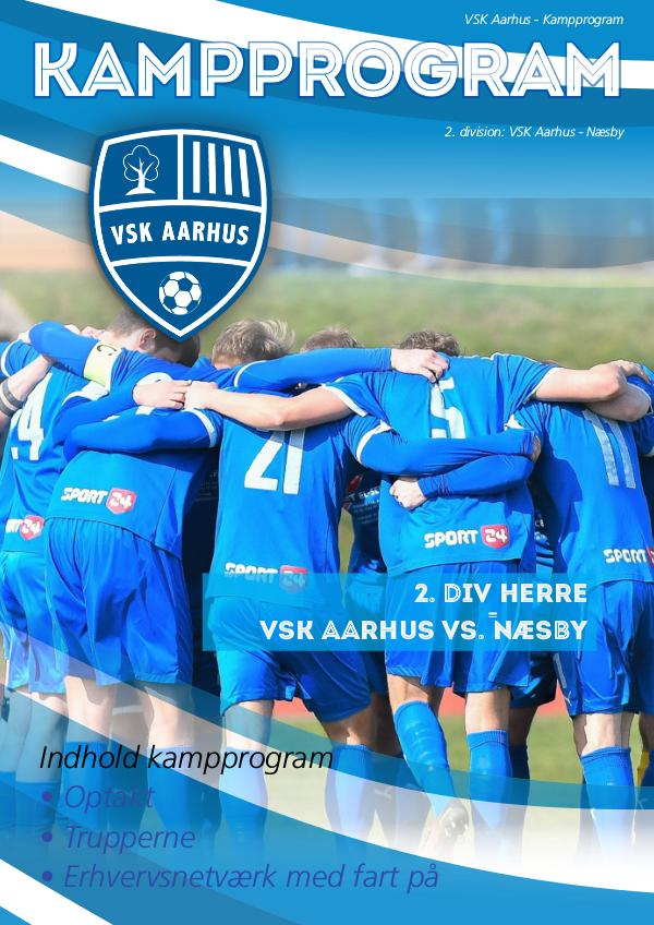 VSK Aarhus Kampprogram VSK Aarhus - Næsby Fodbold