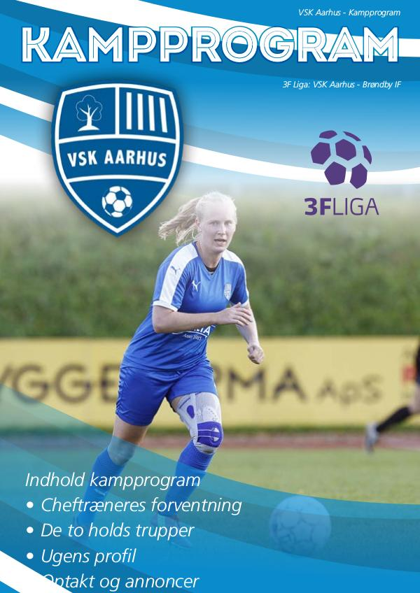 VSK Aarhus Kampprogram VSK Aarhus - Brøndby IF