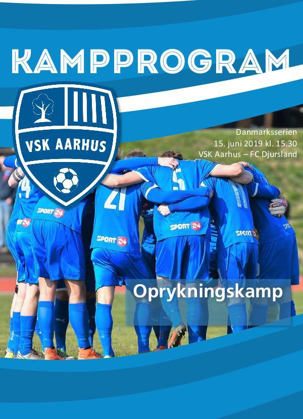 VSK Aarhus Kampprogram VSK Aarhus - FC Djursland