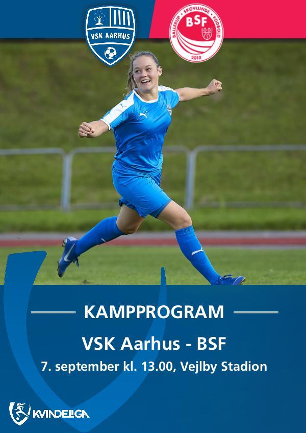 VSK Aarhus Kampprogram VSK Aarhus - BSF