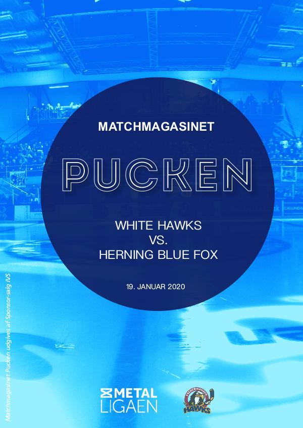 White Hawks vs. Blue Fox 19. januar