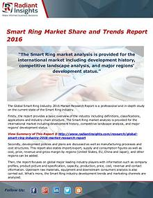 Electronics Research Reports by Radiant Insights