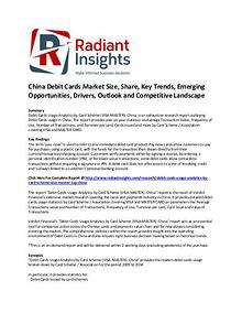 China Debit Cards Market Size, Share, Key Trends, Strategies