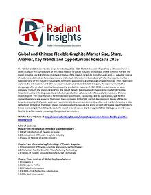 Flexible Graphite Market Size, Share, Growth,  Forecasts 2016