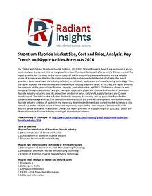 Strontium Fluoride Market Size, Share, Growth 2016