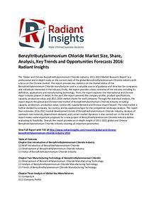 Benzyltributylammonium Chloride Market Share, Growth 2016