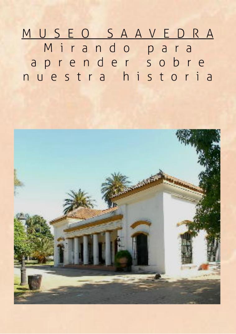 CATALOGO DEL MUSEO  SAAVEDRA