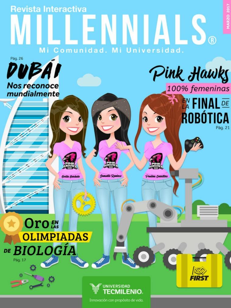 Revista Millennials Marzo 2017