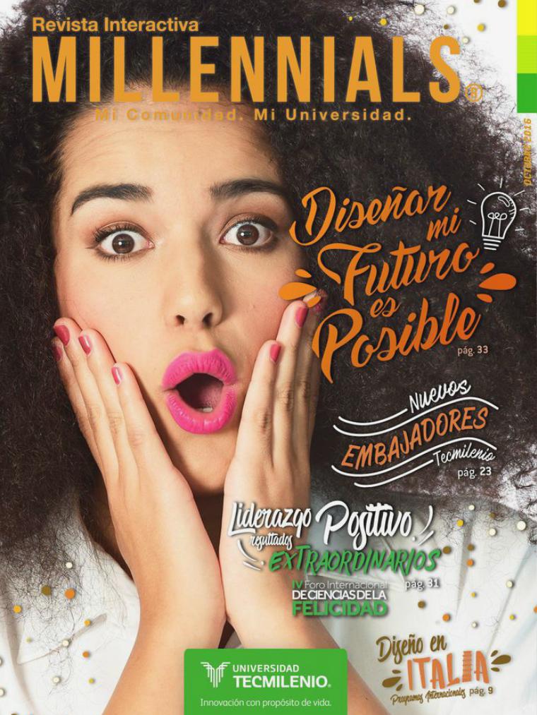 Revista Millennials Octubre 2016