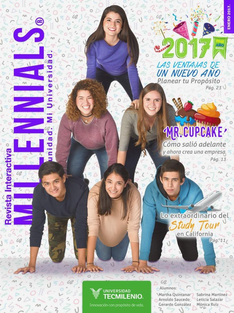 Revista Millennials Enero 2017