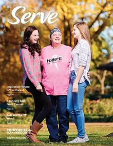 Serve Magazine from Concordia Plan Services