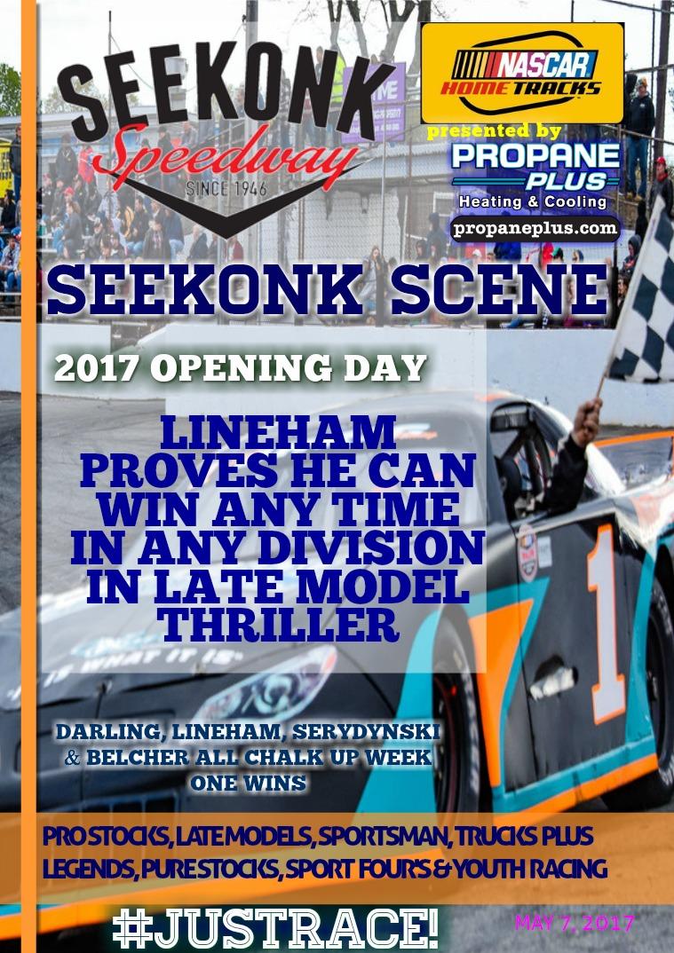 Seekonk Speedway Race Magazine Opening Day