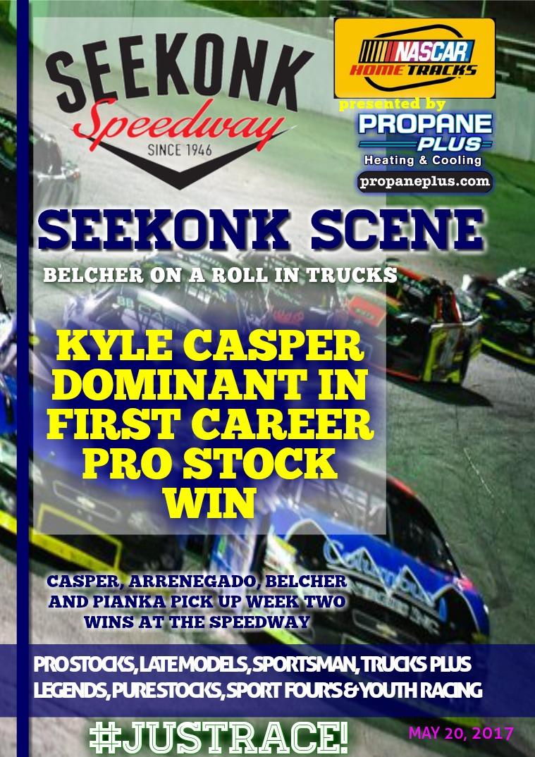 Seekonk Speedway Race Magazine May 20