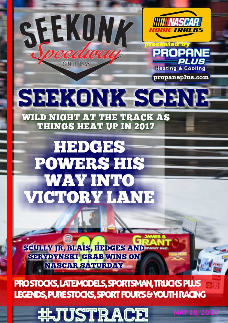 Seekonk Speedway Race Magazine May 28 Weekend Recap