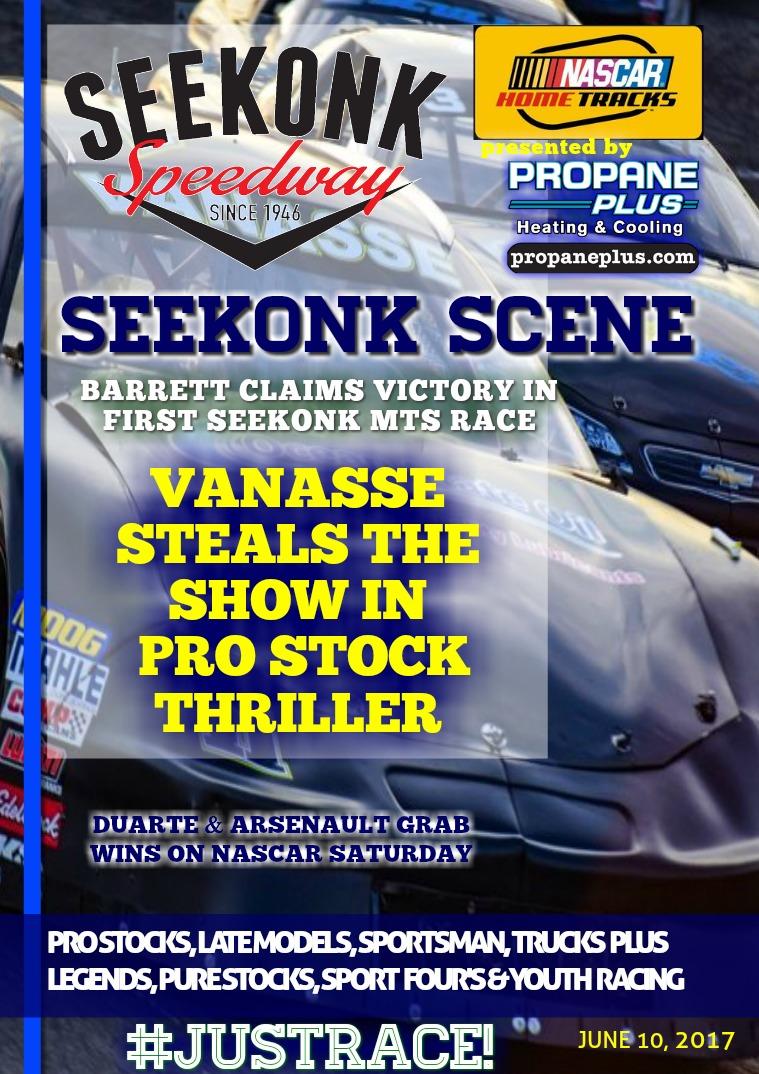 Seekonk Speedway Race Magazine June 9th-10th Weekend Recap