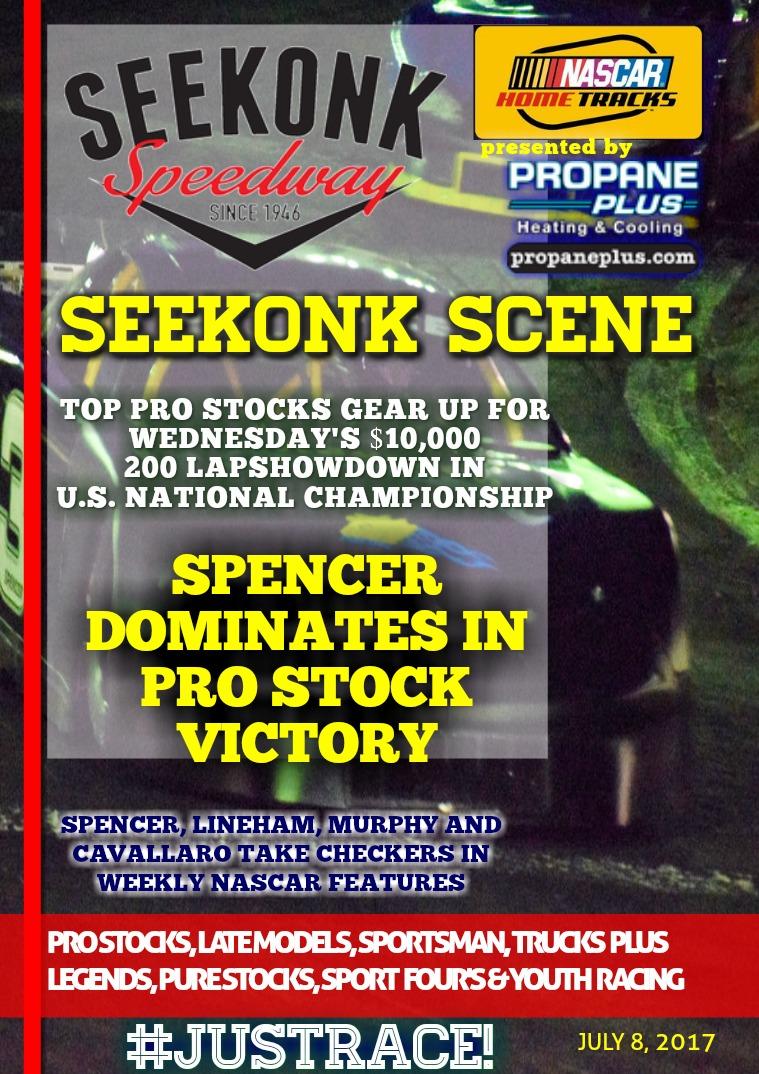 Seekonk Speedway Race Magazine July 7th & 8th Recap