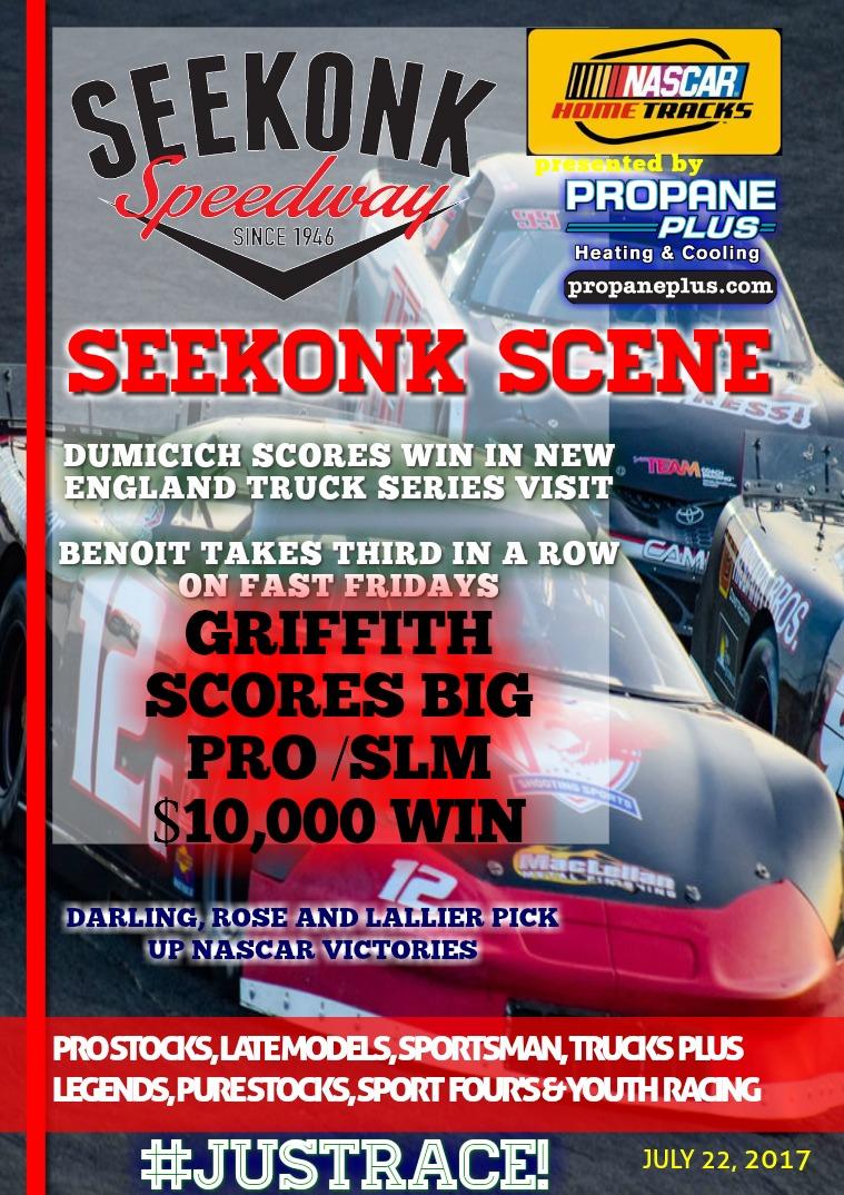 Seekonk Speedway Race Magazine July 19th - 22nd