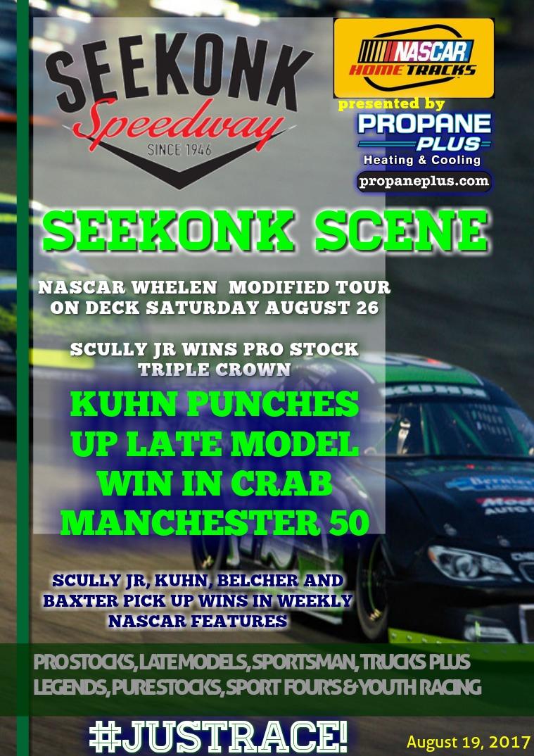 Seekonk Speedway Race Magazine August  19th
