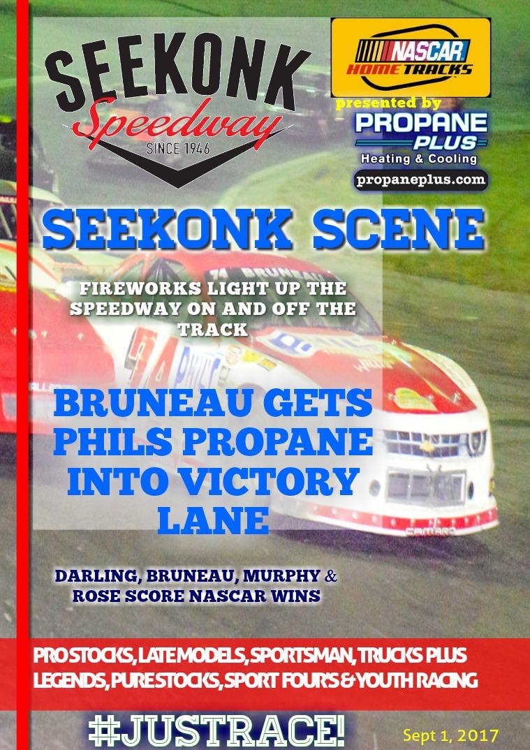 Seekonk Speedway Race Magazine September 1st & 2nd