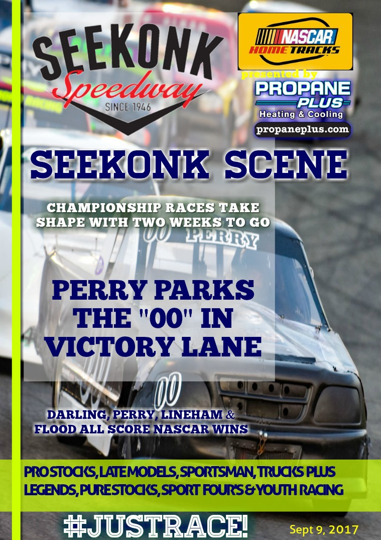 Seekonk Speedway Race Magazine September 8th & 9th