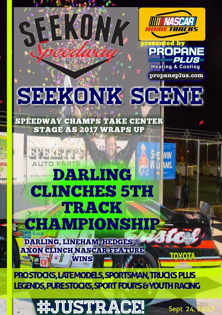 Seekonk Speedway Race Magazine Champions Issue