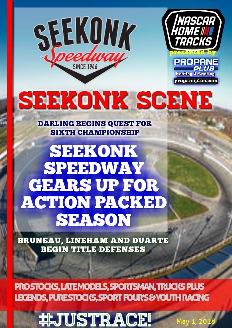 Seekonk Speedway Race Magazine 2018 NASCAR Season Preview