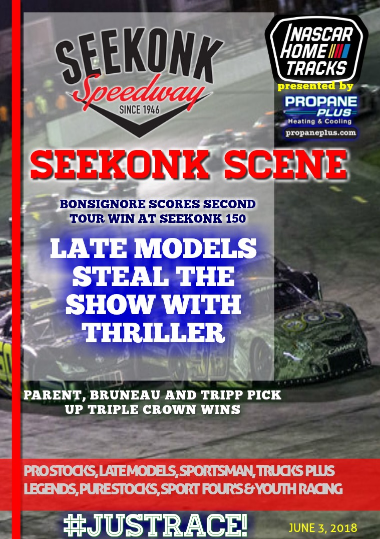 Seekonk Speedway Race Magazine NWMT Seekonk 150