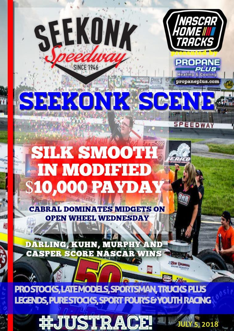 Seekonk Speedway Race Magazine Seekonk Speedway 7.4.18