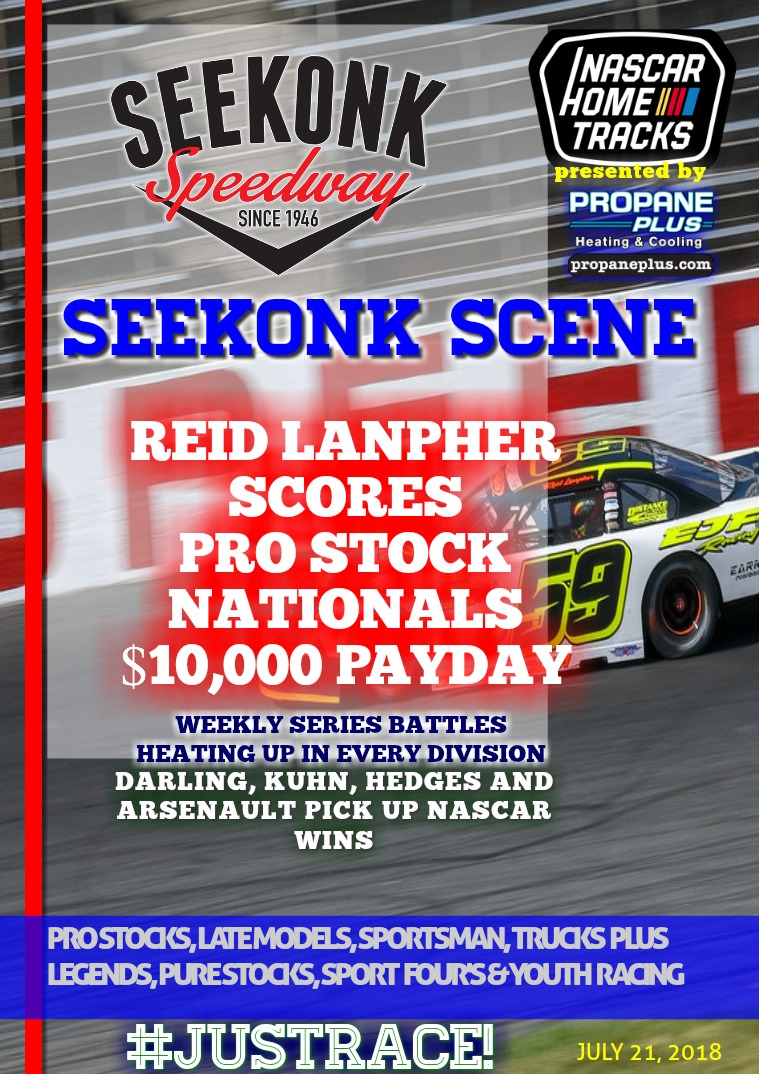 Seekonk Speedway Race Magazine Seekonk Speedway 7.19.18
