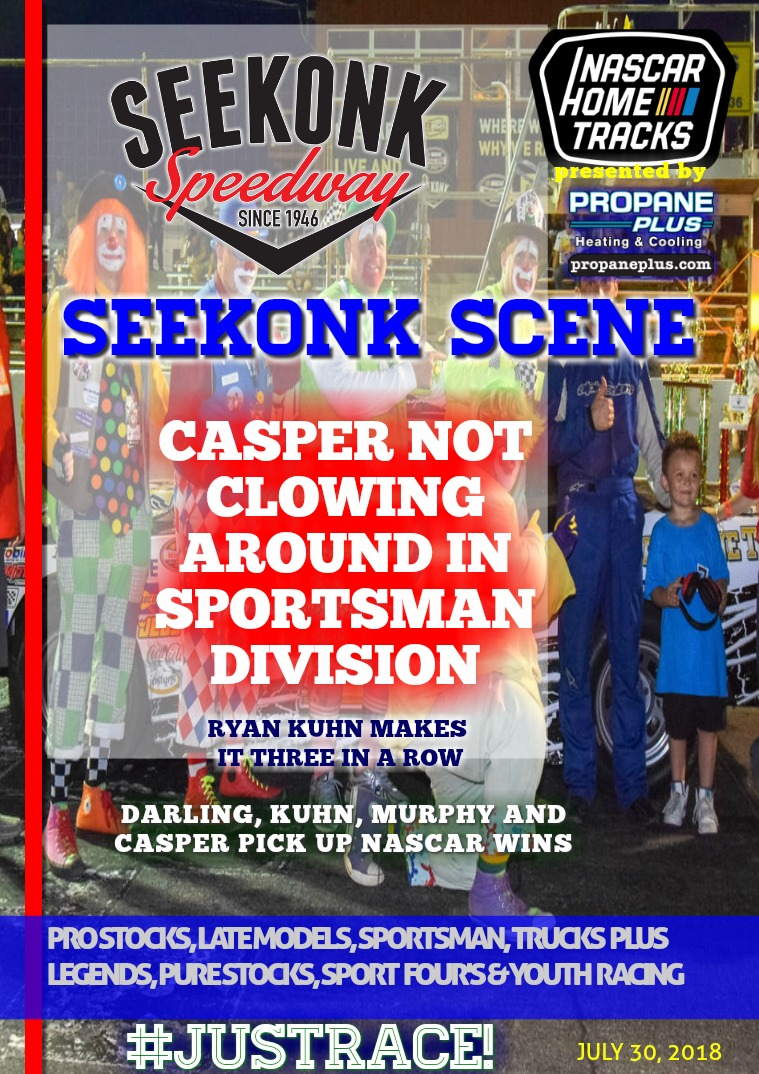 Seekonk Speedway Race Magazine Seekonk Speedway 7.30.18
